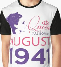 It's My Birthday 77. Made In August 1941. 1941 Gift Ideas. Graphic T-Shirt