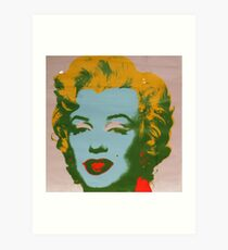 Pop Art | Marilyn Monroe by Andy Warhol  Art Print