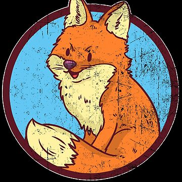 Red Fox the fox in the forest by ShirtMeUp