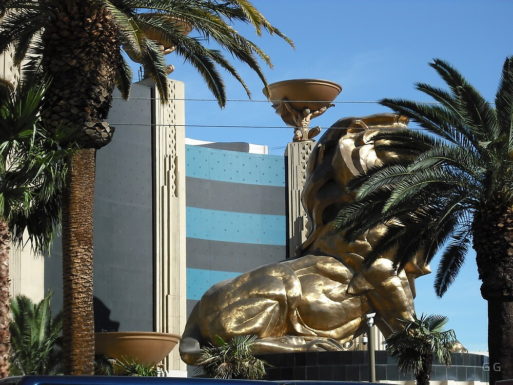 MGM Lion In Las Vegas by G G