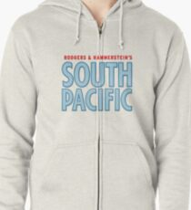South Pacific musical  Zipped Hoodie