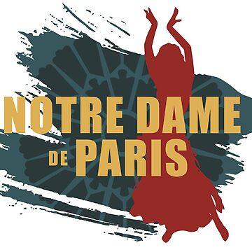 Notre Dame de Paris by santosblanco