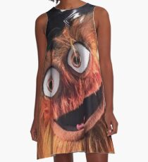 """Flyers New Mascot """"Gritty"""" A-Line Dress"""