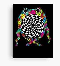 Warp Monster Canvas Print