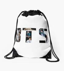 BTS Members Logo Drawstring Bag