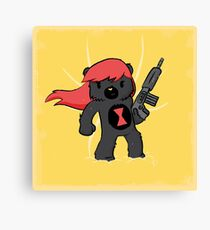 Bear Widow Canvas Print