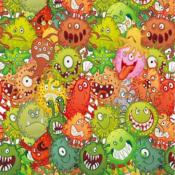 Bacteria and Microbes by markstones