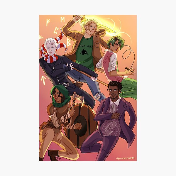Magnus Chase and the Gods of Asgard Photographic Print