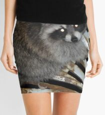 Raccoon Mini Skirt