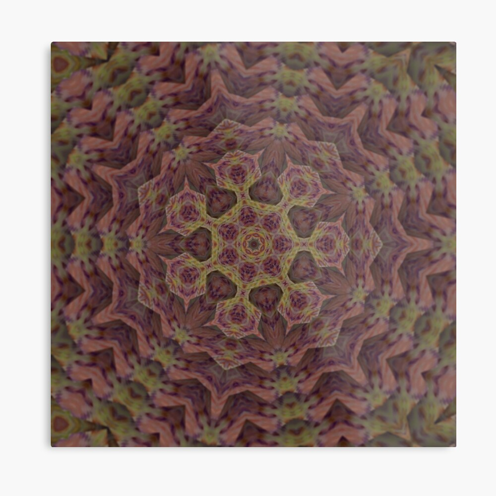 Alien Bacteria from the Black Lagoon of Space Metal Print