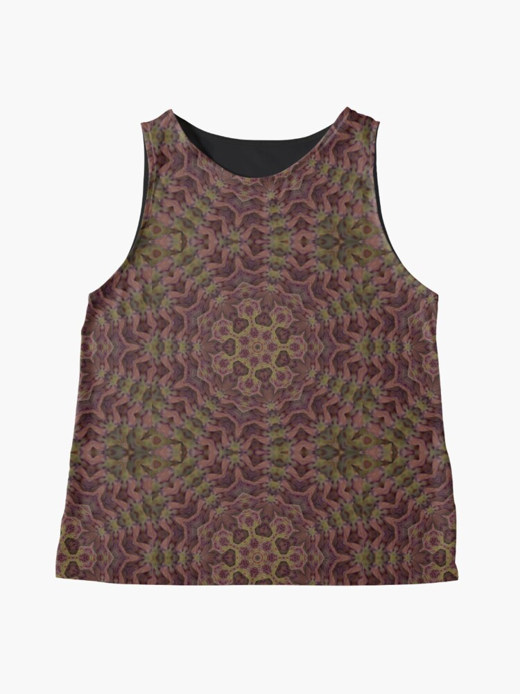 Alternate view of Alien Bacteria from the Black Lagoon of Space Sleeveless Top