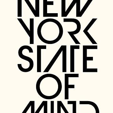 Estado de mente de Nueva York de TheLoveShop