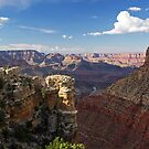 Towering Layers of the Grand Canyon II by Julia Washburn