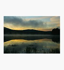 Mist on Georgetown Lake Photographic Print