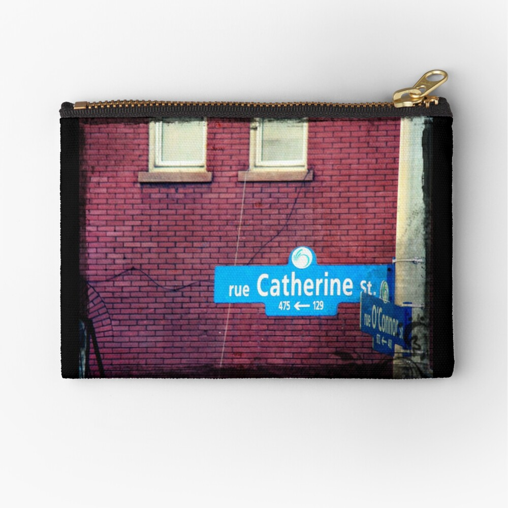 Catherine  Zipper Pouch