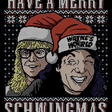 Merry Schwingmas! by Punksthetic