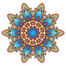 Colour Pattern Kaleidoscope 04 by fantasytripp