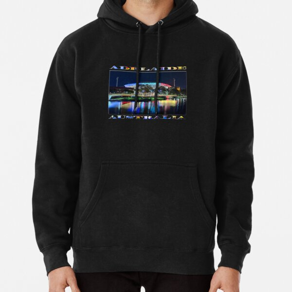 Adelaide's Tribute (poster on black) Pullover Hoodie