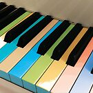 Colored Piano Keys by Jerald Simon (Music Motivation - musicmotivation.com) by jeraldsimon
