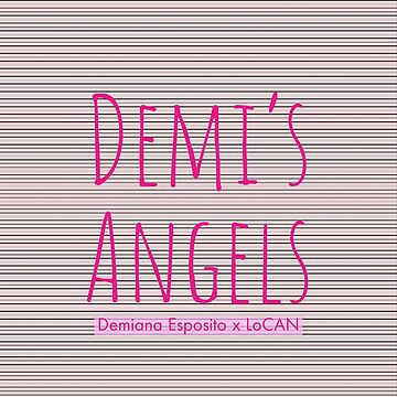 Demis Angels | Pink Pattern | 7 by Locan