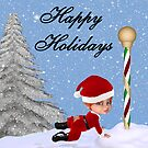 Happy Holidays by Catherine Crimmins