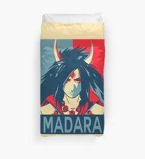 Madara Hope Poster Naruto Duvet Cover