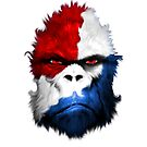 National Cryptid Society Red White and Blue Patriotic Bigfoot / Sasquatch by NationalCryptid
