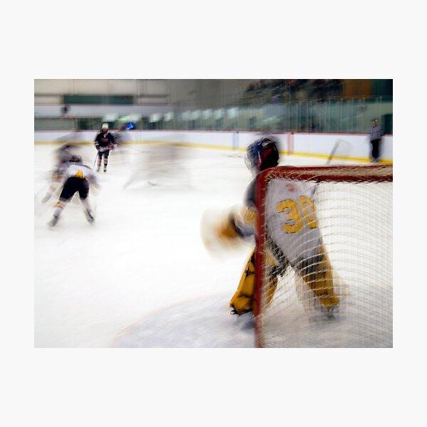 Saturday Morning Hockey Practice Photographic Print