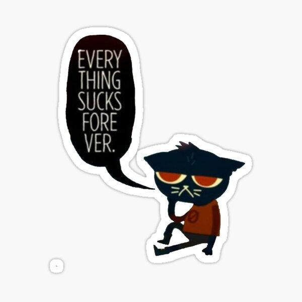 Everything sucks Sticker