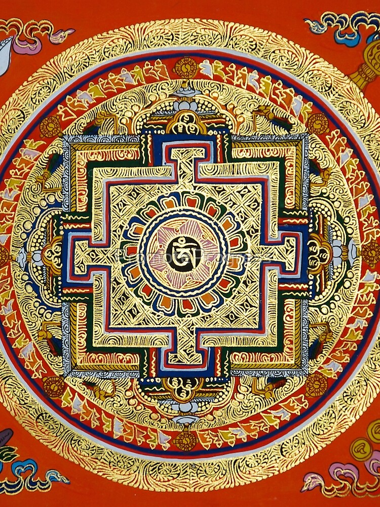 Tibetan Mandala by PromoteProgress