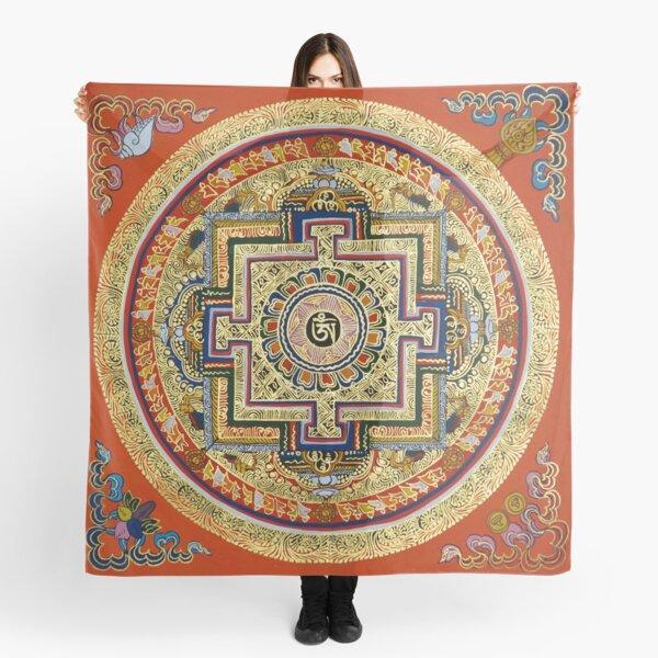 Tibetan Mandala Scarf