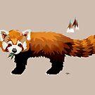 Red Panda by Karin Taylor