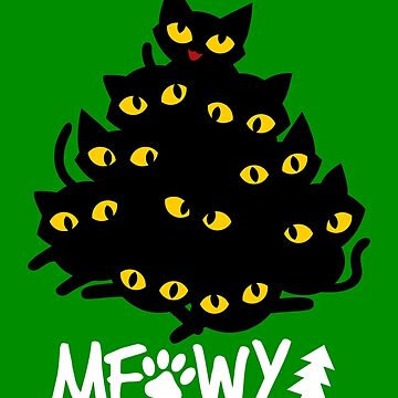 Meowy Christmas Tree by VomHaus