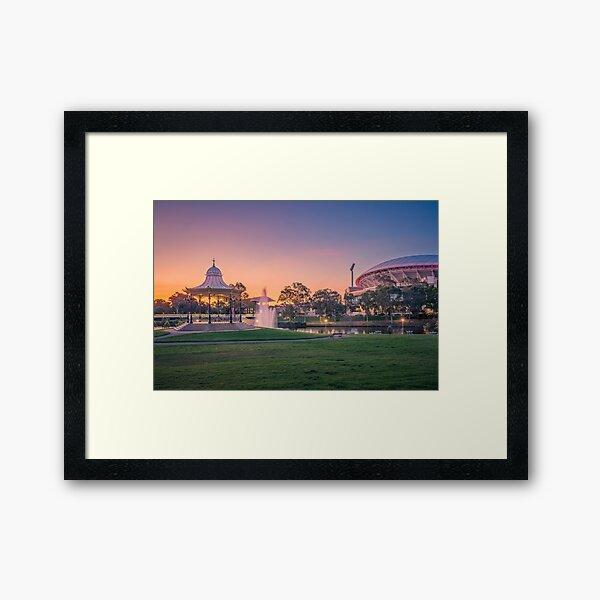 Adelaide Sunset  Framed Art Print