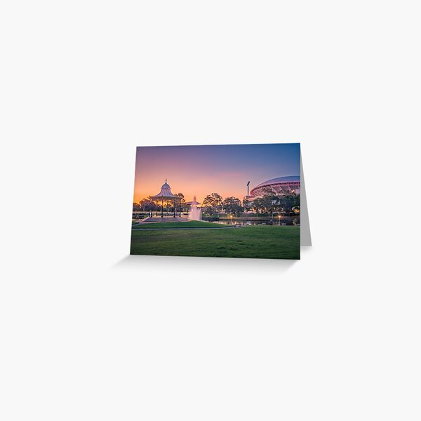 Adelaide Sunset  Greeting Card