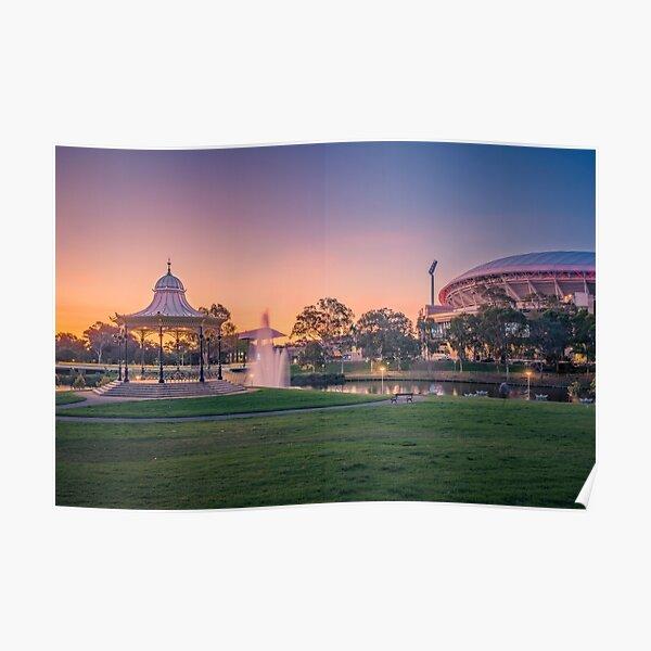 Adelaide Sunset  Poster