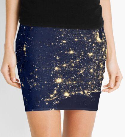 USA by Night Mini Skirt