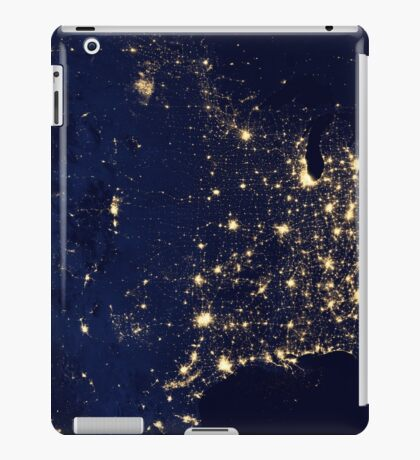 USA by Night iPad Case/Skin