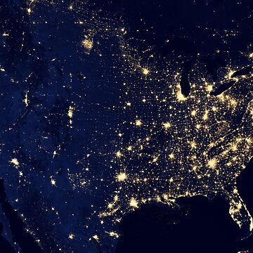 USA by Night by Chocodole
