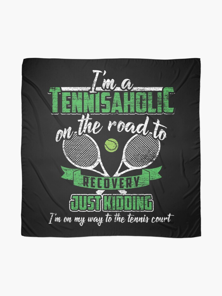 Alternate view of Tennis hobby Scarf