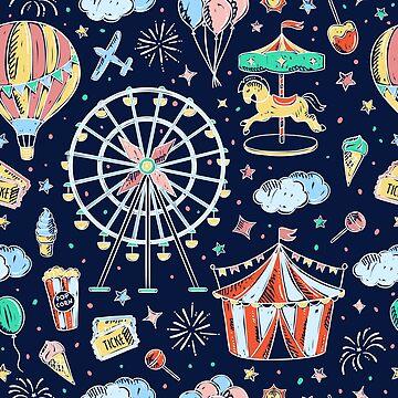 Amusement Park Family Road Trip by 4Craig