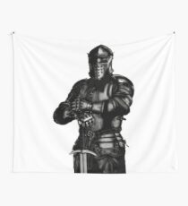 Medieval Knight  Wall Tapestry