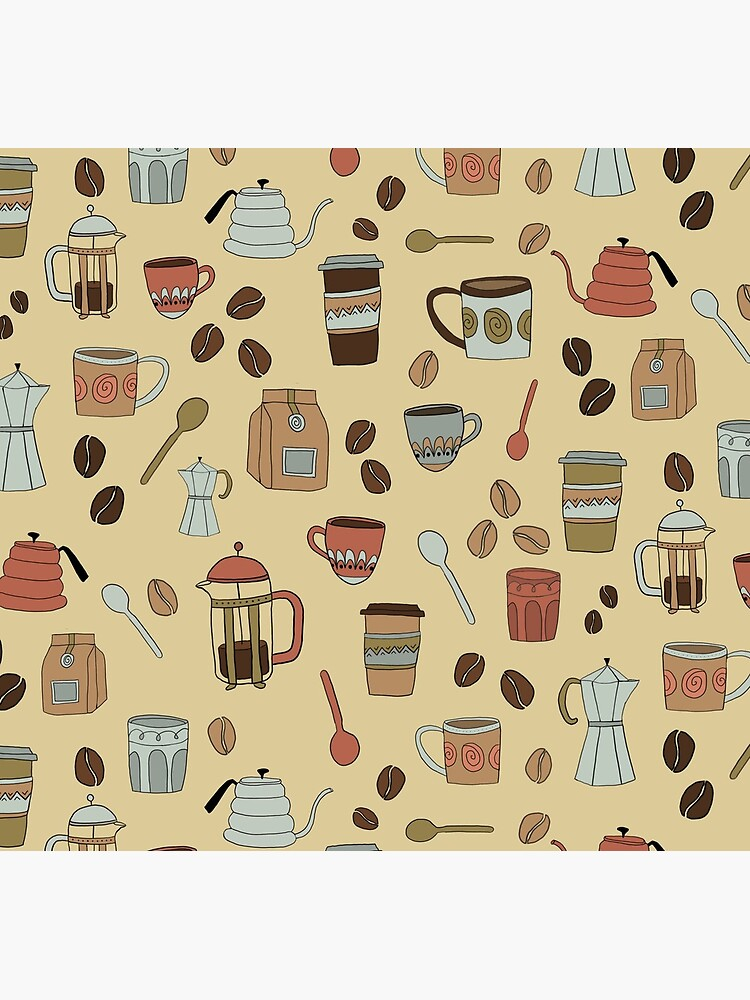 Coffee Lover Pattern by lauramaxwell