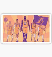 Lakers 2018 Season  Sticker