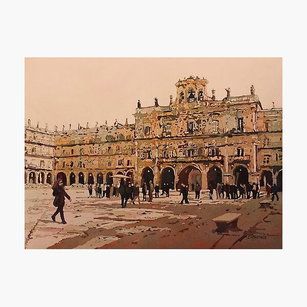 The Heart of Salamanca Photographic Print