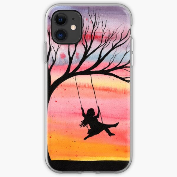 Sunset Joy iPhone Soft Case