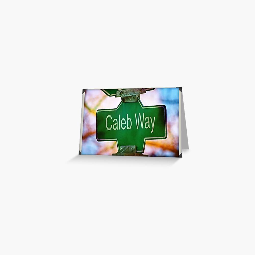 Caleb  Greeting Card