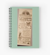 The Muppets are Moving to New York Spiral Notebook