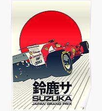 Formel 1 Großer Preis von Japan Poster