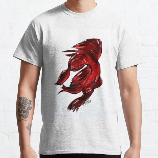 Art Doodle No. 36 Betta Fish Classic T-Shirt